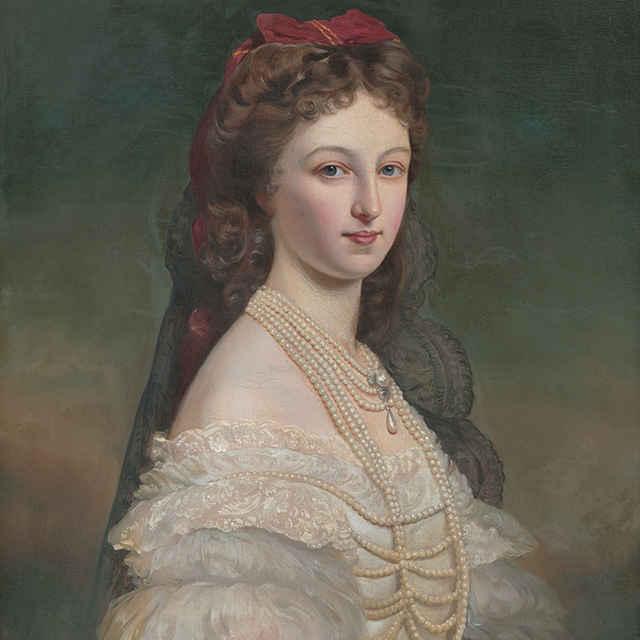 Portrét grófky H. Erdödy