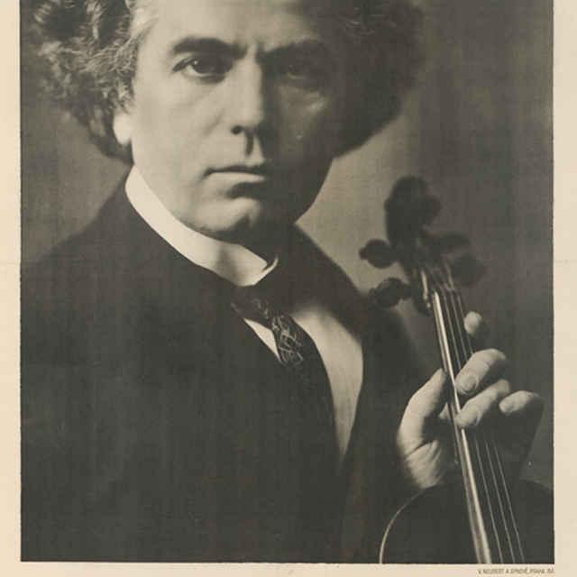 Portrétový plagát J. Kubelíka