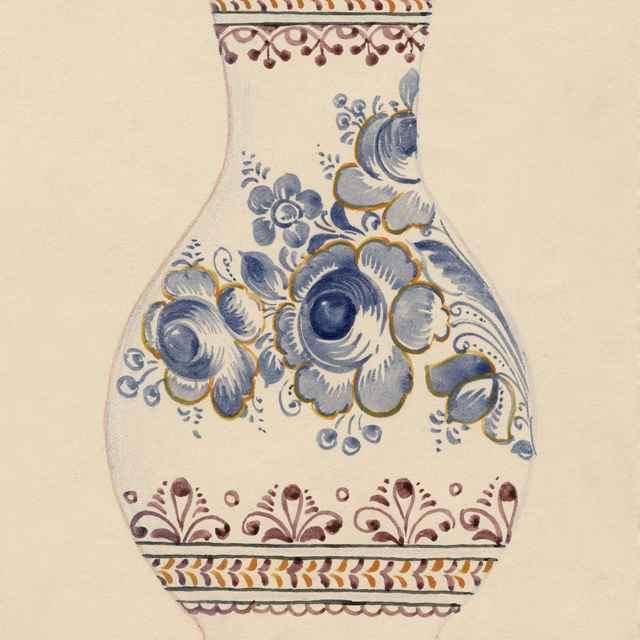 Maľovaný džbán z Modry 007-01