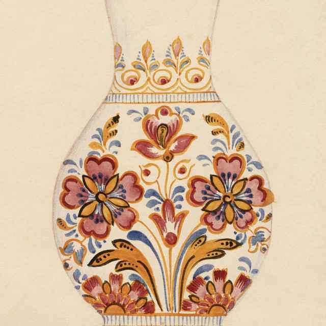 Maľovaný džbán z Modry 003-01