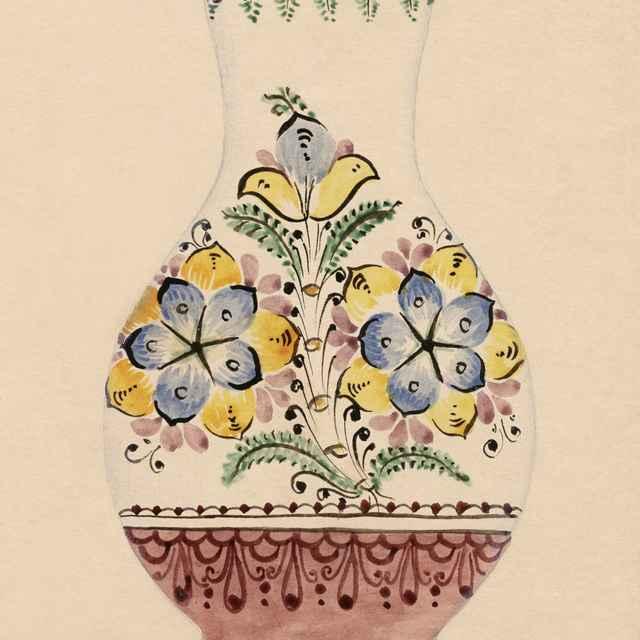 Maľovaný džbán z Modry 010-01