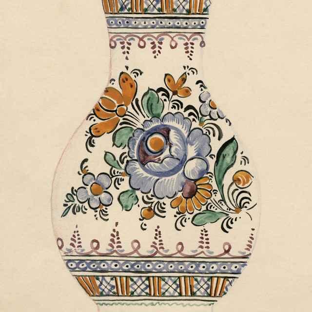 Maľovaný džbán z Modry 005-01