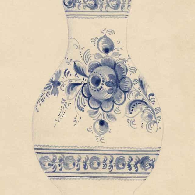 Maľovaný džbán z Modry 006-01