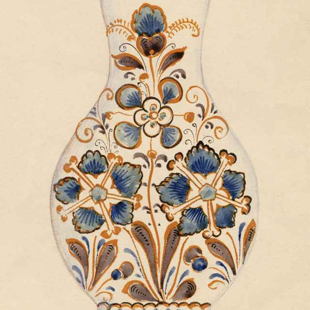 Maľovaný džbán z Modry 002-01