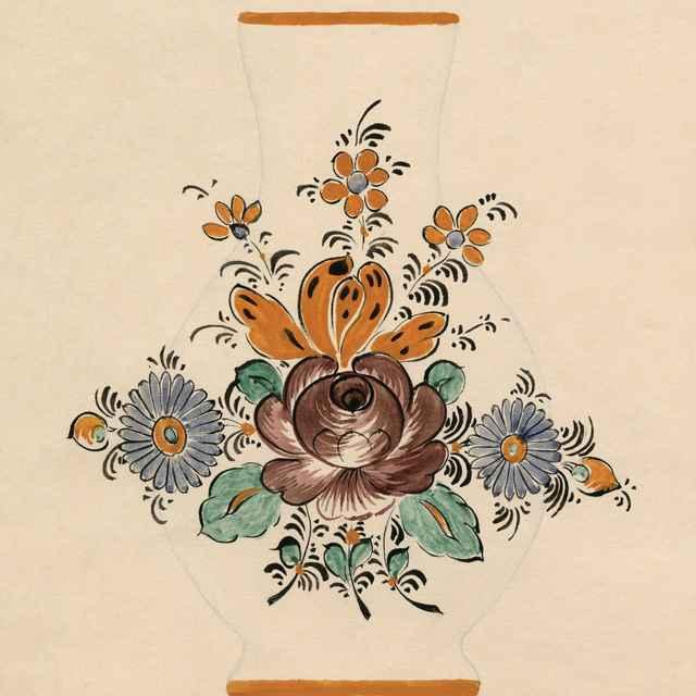 Maľovaný džbán z Modry 013-01