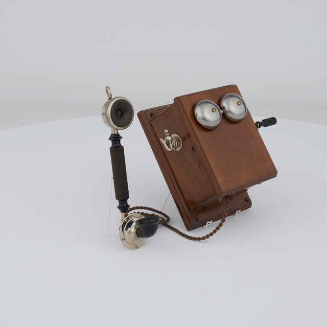 Telefón nástenný induktorový