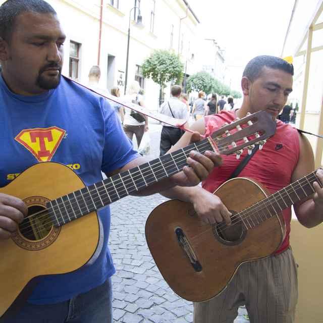 Pouličný spev - Čonka, Roman