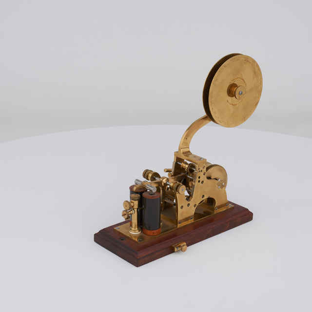 Telegraf Morseov rycí