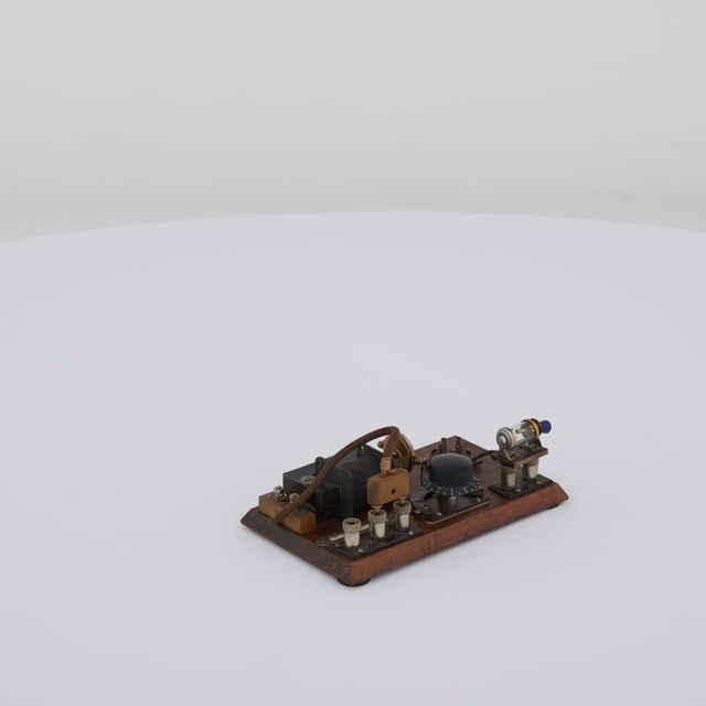 Rádioprijímač detektorový - chassis