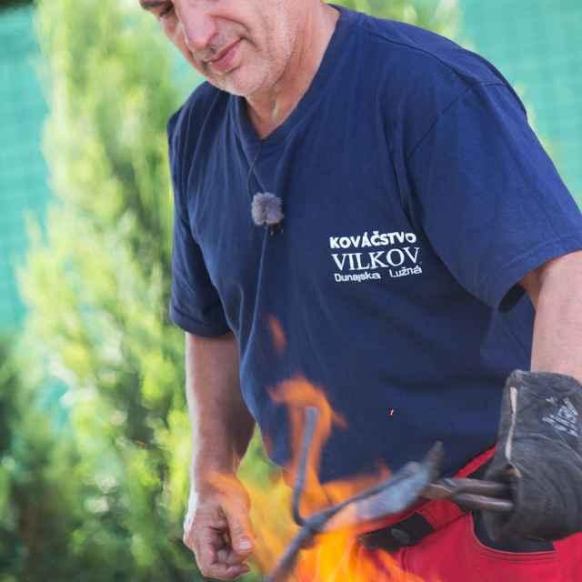 Viliam Šarkozy - kováčska práca
