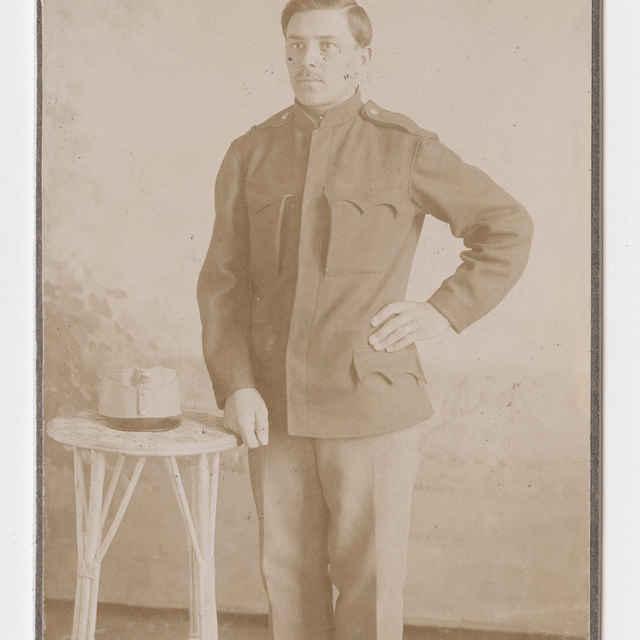 Fotografia - Portrét vojaka