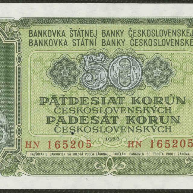Bankovka 50 Kčs (krajina)