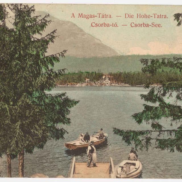 Pohľadnica Vysoké Tatry