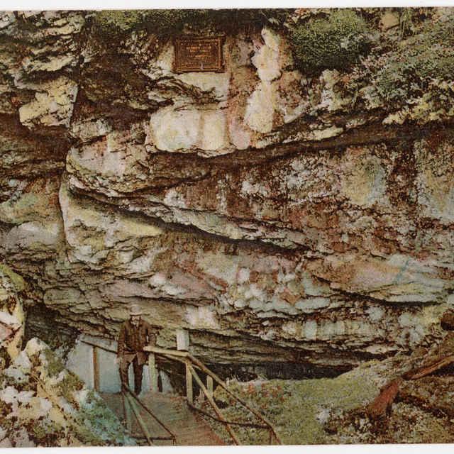 Pohľadnica Dobšinská ľadová jaskyňa