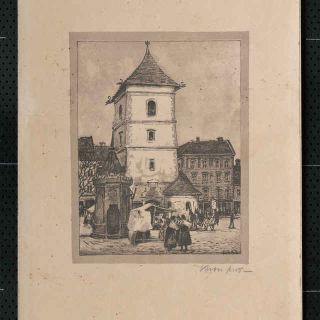 Urbanova veža v Košiciach - Krón Eugen
