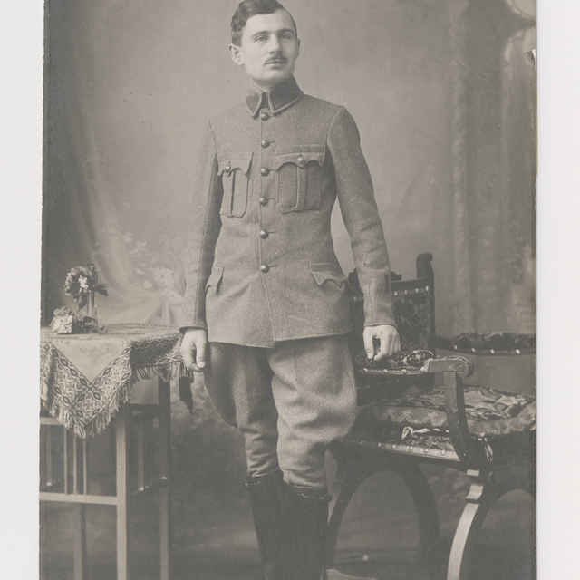 Pohľadnica: Portrét Ludvíka Řezníčka