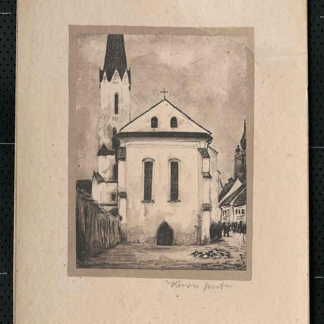 Dominikánsky kostol v Košiciach - Krón, Eugen