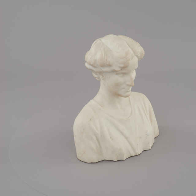 Busta - portrét Zity Bourbonsko-Parmskej, manželky cisára Karola I. - Kisfaludi Strobl, Zsigmond
