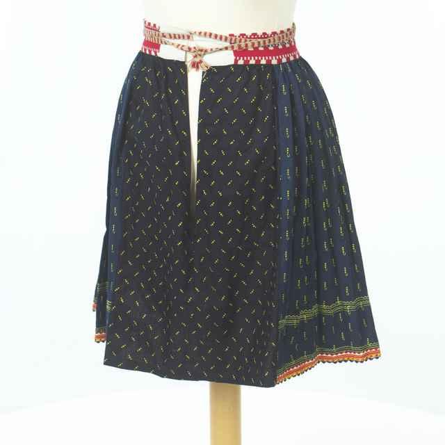 sukňa modrotlačová