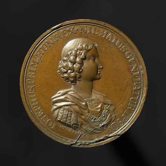 Pamätná medaila na bratislavskú korunováciu Jozefa I. ako uhorského kráľa, bronzová