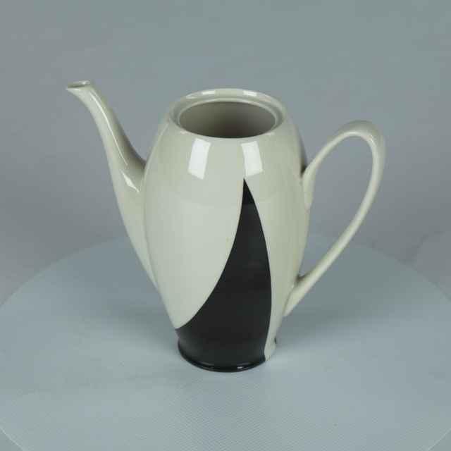 Konvica s vrchnáčikom porcelánová