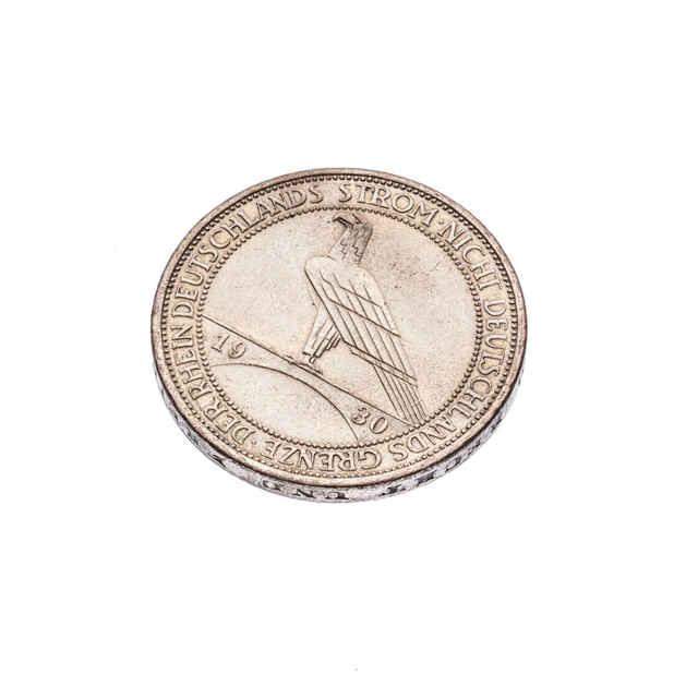 Minca 3 ríšske marky ( Nemecko 1930 )