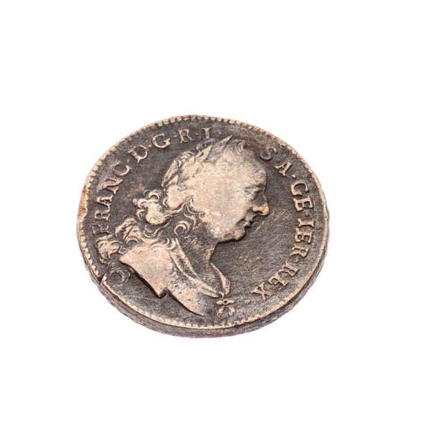 Minca 1 grajciar ( Rakúsko 1763 )