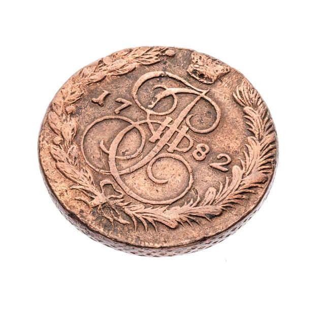 Minca 5 kopejok ( Rusko 1782 )