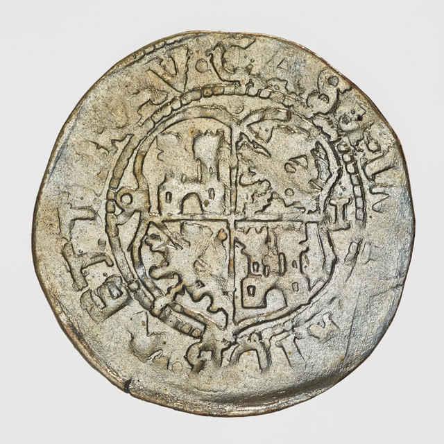 Minca 1/2 batzen ( hrad Friedberg 1591 )