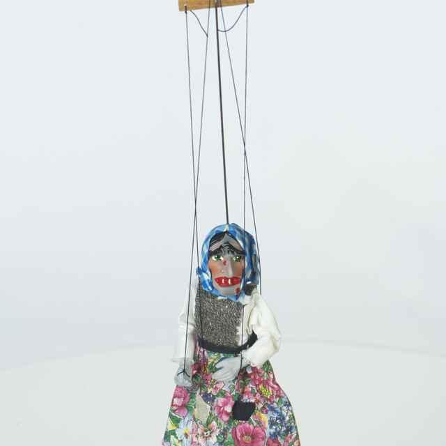 Bábka závesná, marioneta, striga - RNDr.Radovan Hovorka