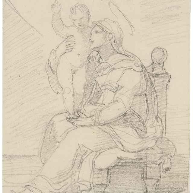 Madona s dieťaťom - Camuccini, Vincenzo