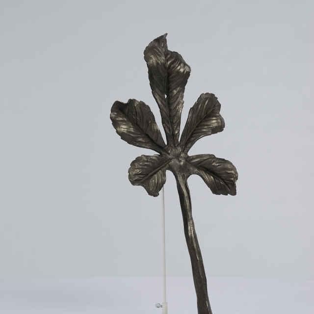 Prvok ozdobný-rôzne ozdobné listy kuté a plechové - gaštanový list