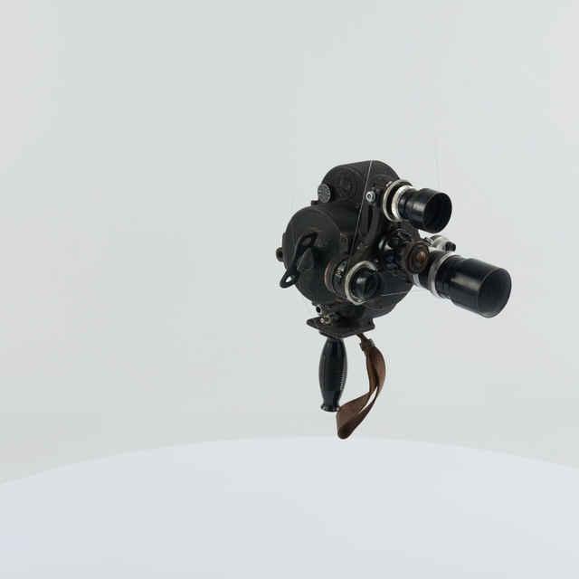 Kamera filmovacia K S 50 B, r.1953, sov. výroby