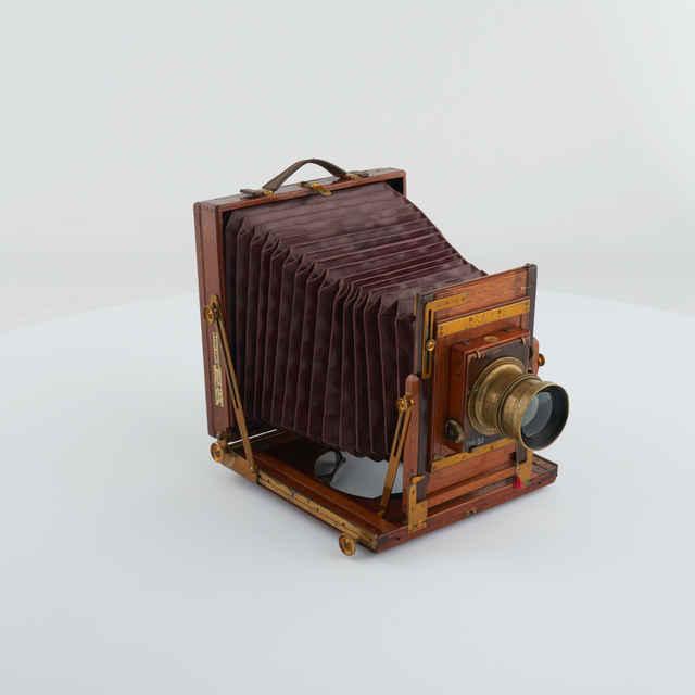Prístroj fotografický atelierový WERNER 18 x 24 cm