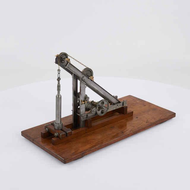 Model reťazového baranidla