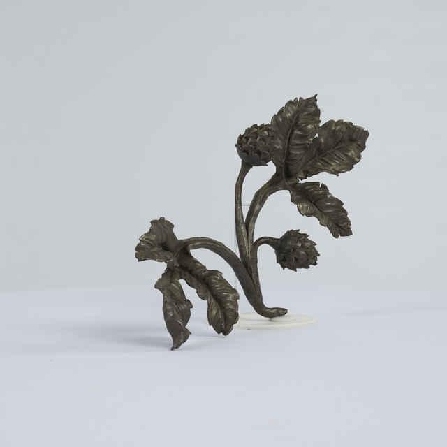 Prvok ozdobný-rôzne ozdobné listy kuté a plechové