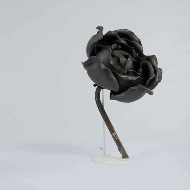 Prvok ozdobný-železná ruža