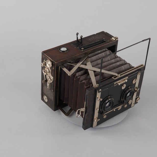 Prístroj fotografický Stereo NETTEL (7x7)