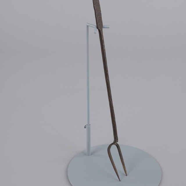 Vidlica železná, kováčska
