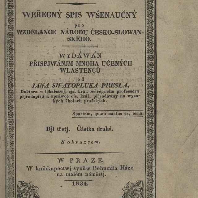 Krok. Weřegný Spis Wšenaučný pro Wzdelance Národu Česko-Slowanského Wydáwán Přispjwánjm Mnoha Učených Wlastenců
