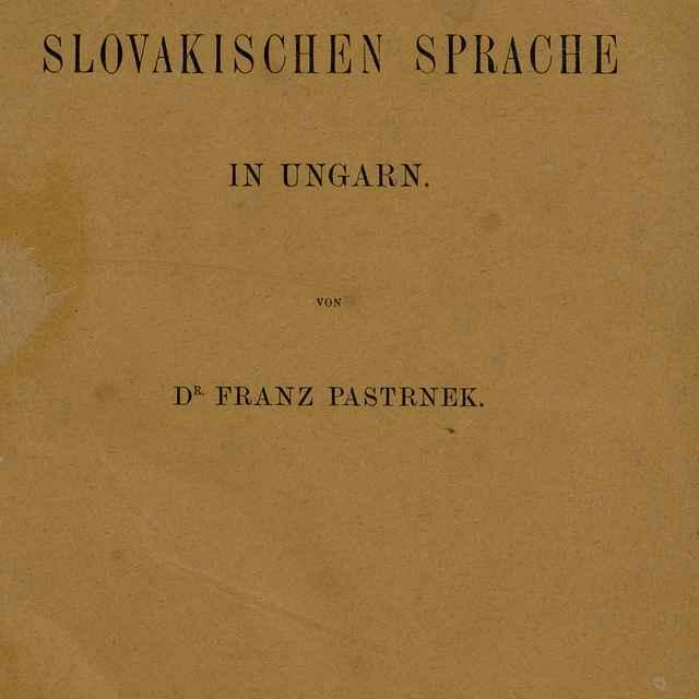 Dejiny Literatúry Slovenskej - Vlček, Jaroslav