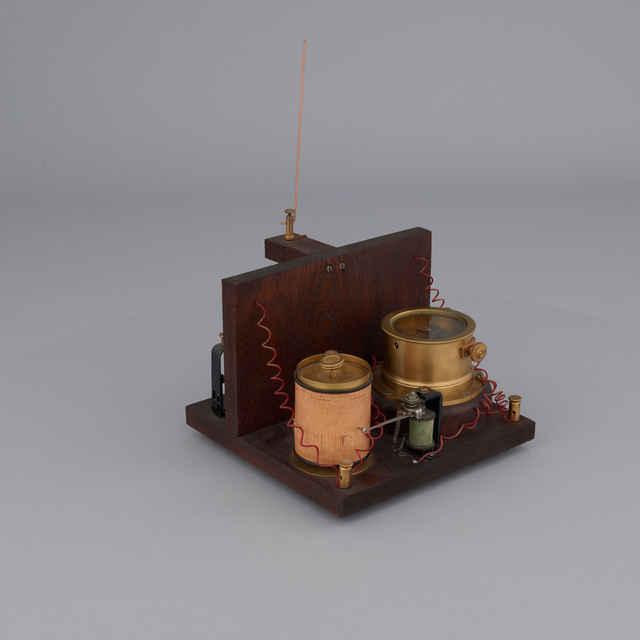 Registrátor atmosférických výbojov - model