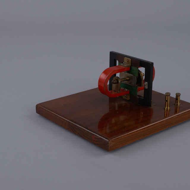 Model magnetického detektora