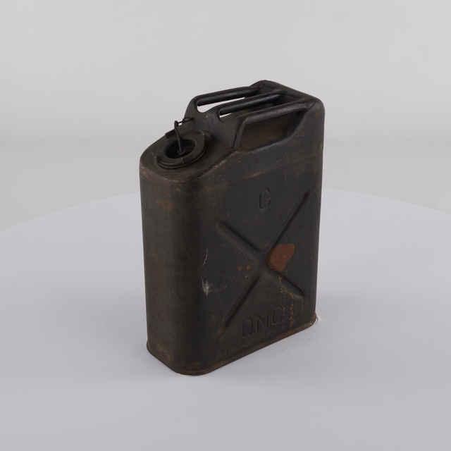 Kanister na pohonné hmoty 20 litrov, USA II. sv. vojna