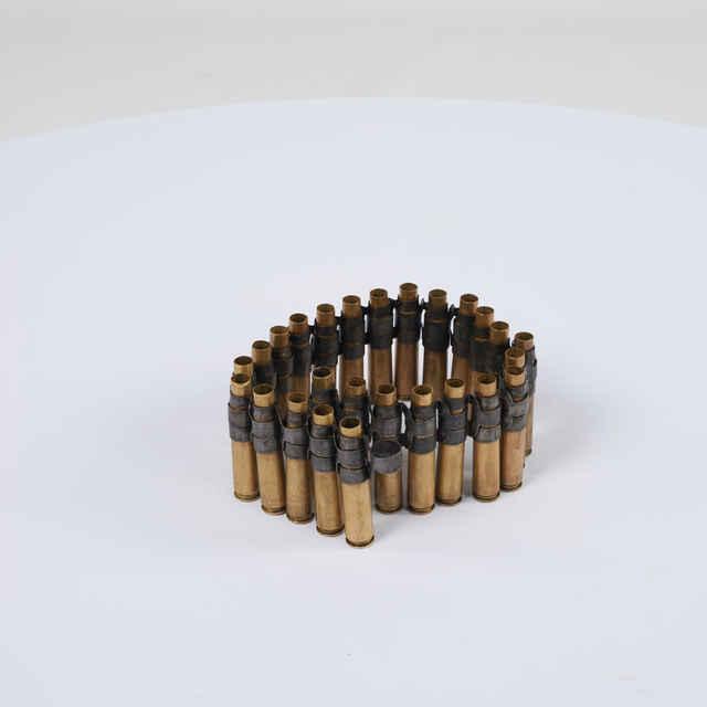 Pás nábojový do leteckého guľometu M2 Browning kalibru 12,7 mm s 26 nábojnicami