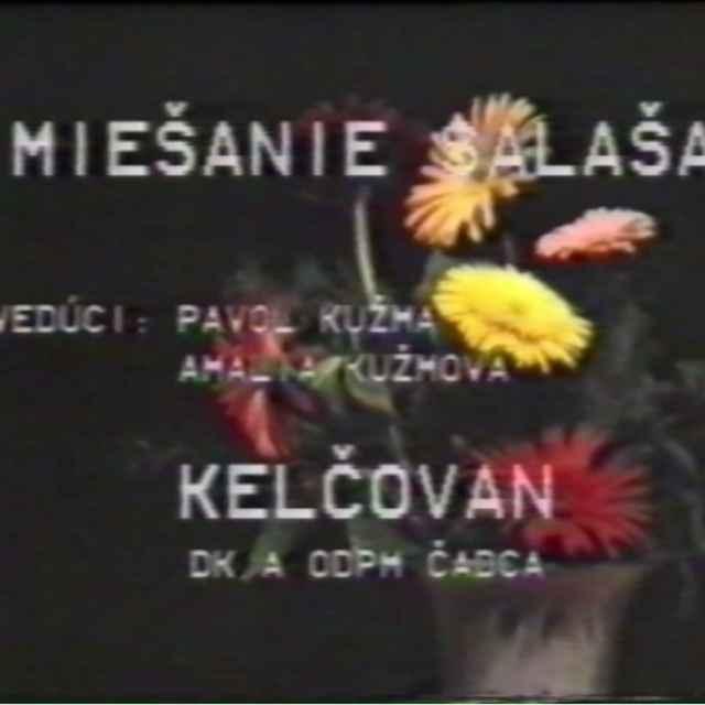 Detský folklórny festival Prešov 1985