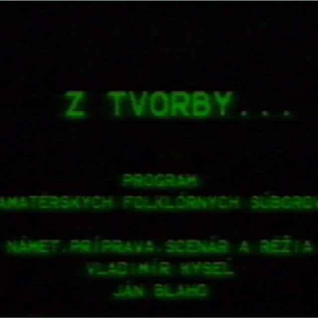 Folklórny festival Východná 1987 I.