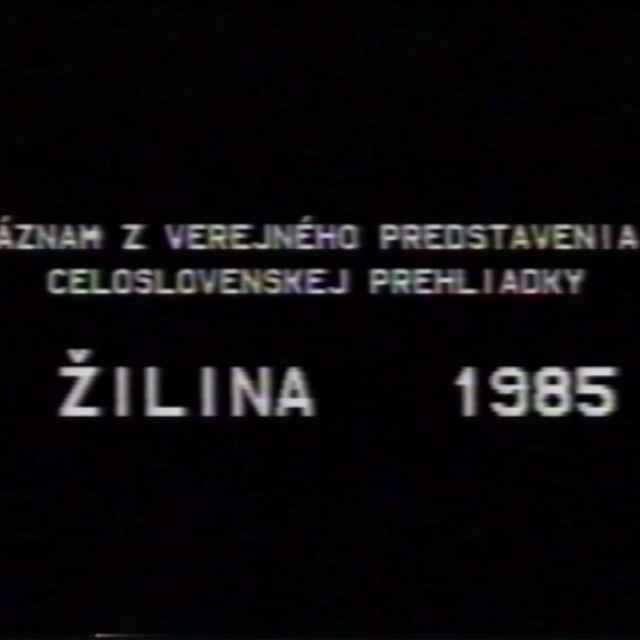 Nositelia tradícii Žilina 1985