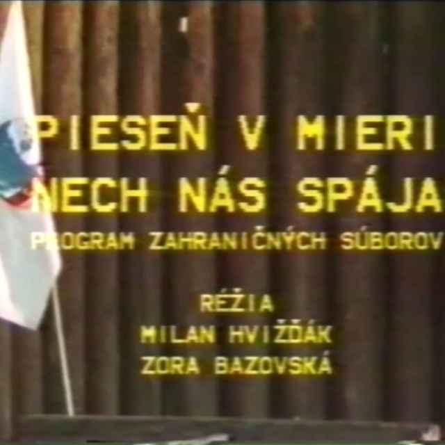 Folklórny festival Východná 1986 II.