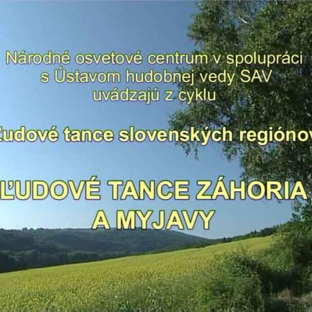 Ľudové tance slovenských regiónov